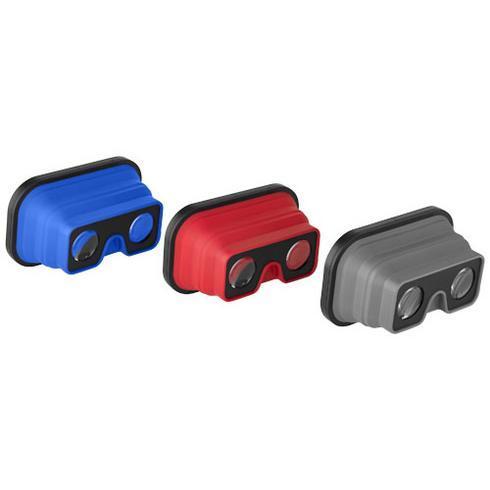 Sil-val foldbar Virtual Reality-briller i silikone