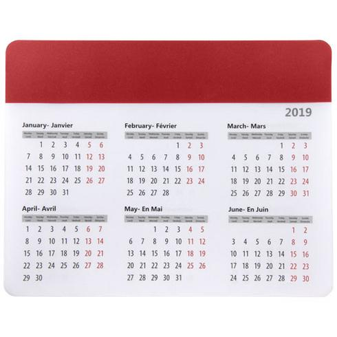 Chart musemåtte med kalender