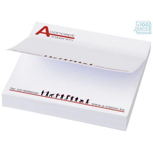 Sticky-Mate® Firkantet memoblok 75x75mm