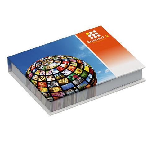 Combi sæt med huskesedler og sidemarkører i hardcover