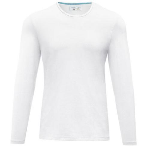 Ponoka langærmet økologisk t-shirt til mænd