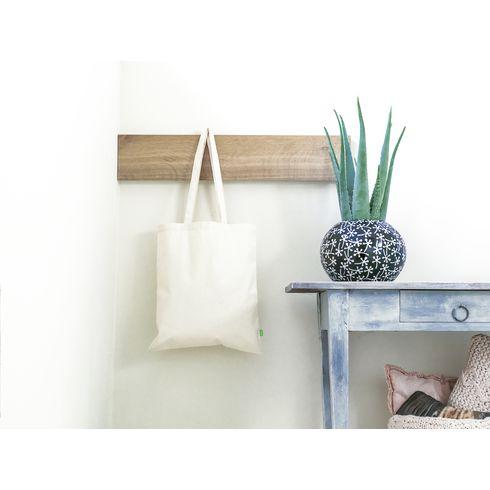Luomupuuvillainen ostoskassi  320g/m²