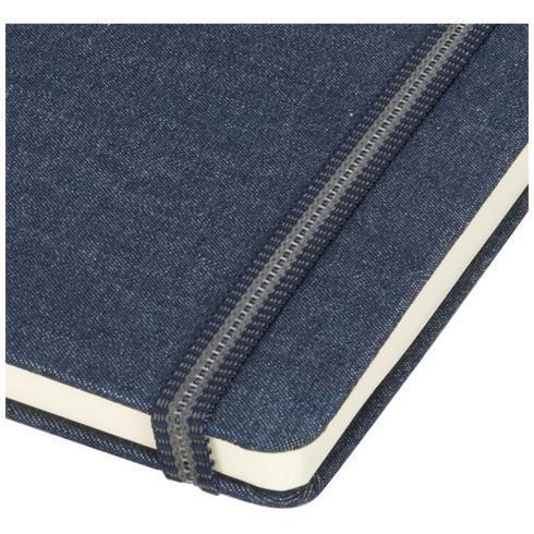 Jeans-muistivihko, koko A5, kangasta