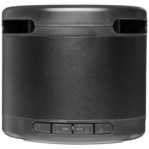 Metallinen Jones-Bluetooth®-kaiutin, jossa langaton latausalusta