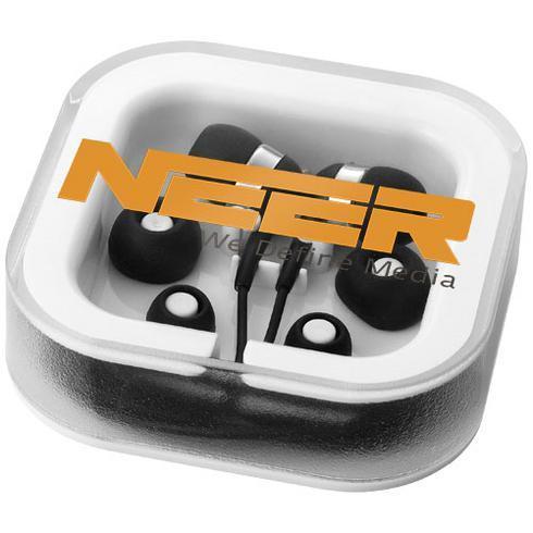Sargas-nappikuulokkeet, joissa on mikrofoni