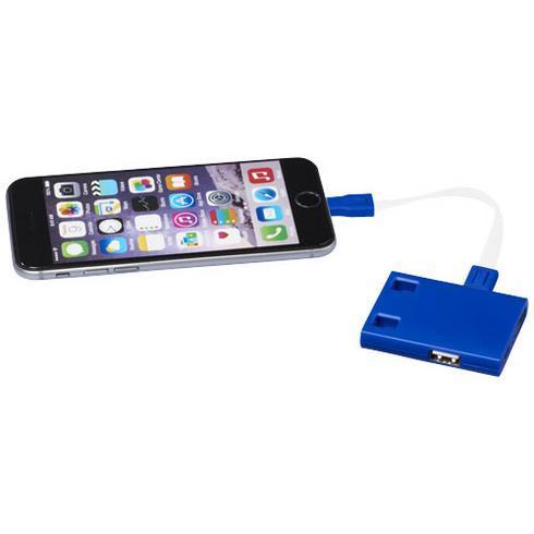 USB-hubi 3-in-1 -johdoilla