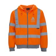 High Visibility ZipSweater
