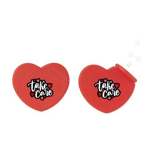 HeartMint boîte de bonbon cœur