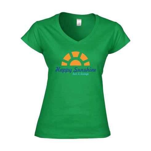 Gildan Quality-V-shirt femmes