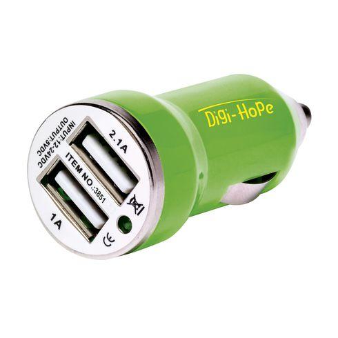 Dual USB CarCharger chargeur de voiture