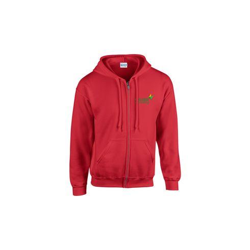 Gildan HoodedZipSweater hommes