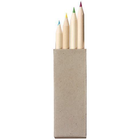 Set de 4 crayons de couleur Tullik