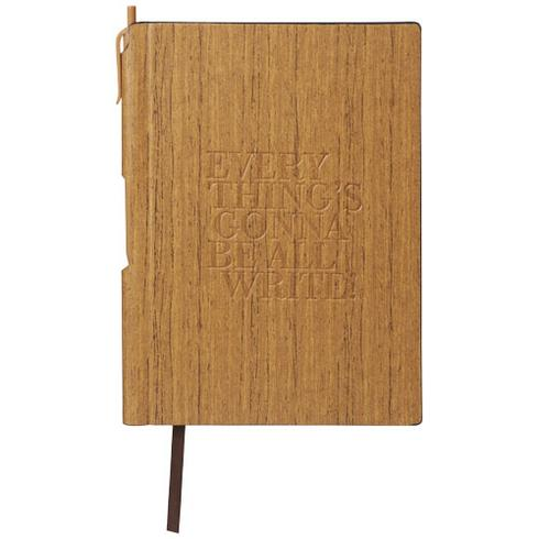 Bloc-notes A5 Bardi à couverture rigide