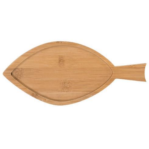 Ensemble apéritif 2 pièces en bambou et forme de poisson Ann