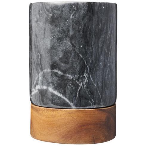 Seau à vin en marbre et bois Harlow