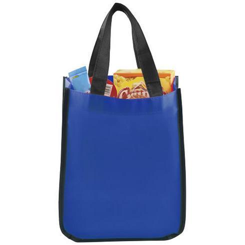 Petit sac shopping laminé