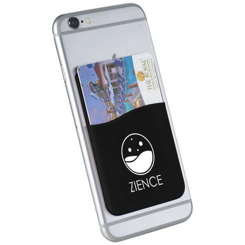 Porte-cartes en silicone pour smartphones Slim