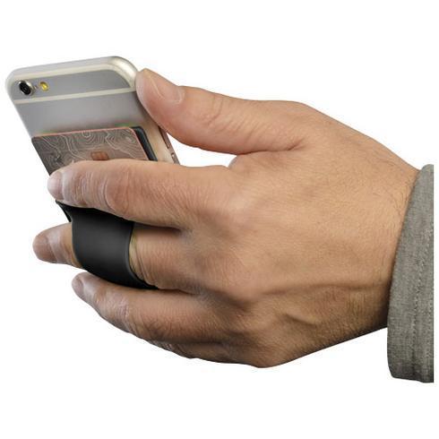 Porte-cartes avec anneau en silicone Storee