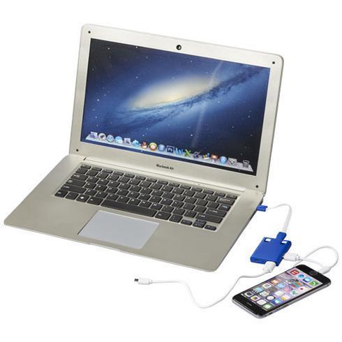 Hub USB avec cables 3 en 1