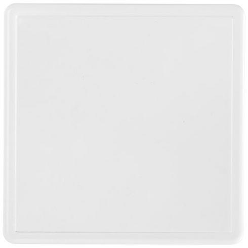 Sous-verre carré Ellison plastique avec insertion de papier