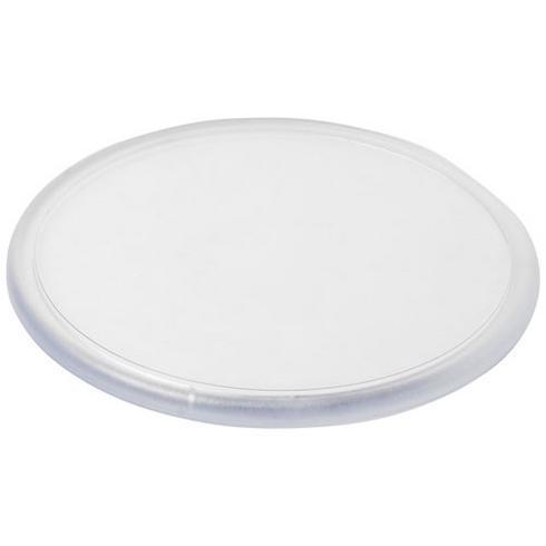 Sous-verre rond Ellison plastique avec insertion de papier