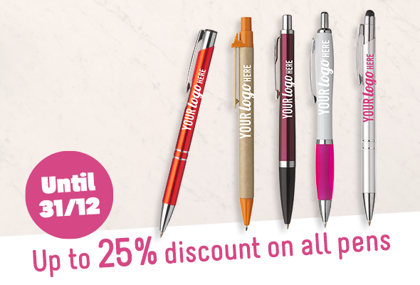 Discount on all pens