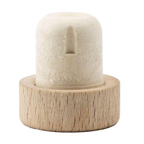 Synthetic cork cap