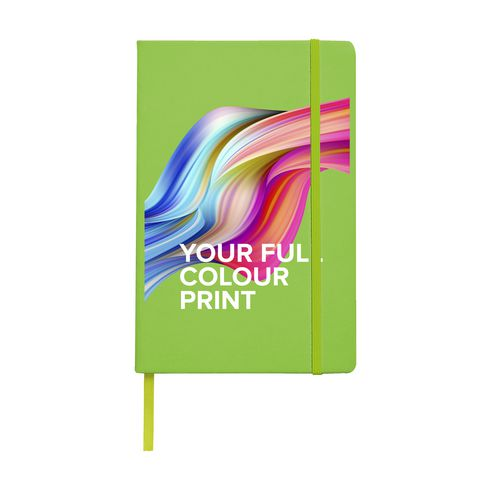 Promotional A5 notebook with hardcover