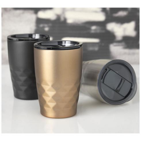 Geo 350 ml copper vacuum insulated tumbler