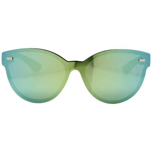 Shield sunglasses with full mirrored lens