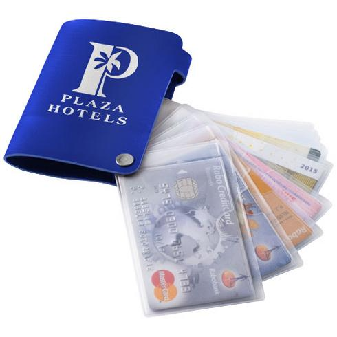 Valencia card holder with 10 slots