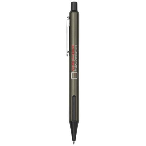 Milas ballpoint pen with rubber grips