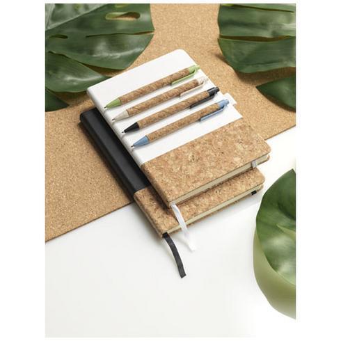 Midar cork and wheat straw ballpoint pen