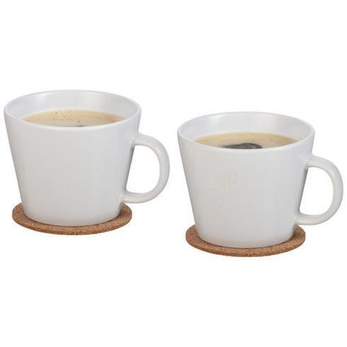 Hartley 2-piece mug set with coaster