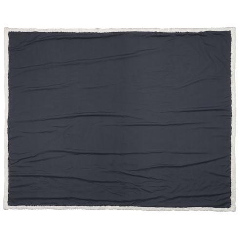 Far sherpa plaid blanket