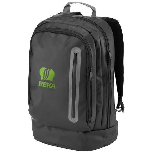"North-sea 15.4"" water-resistant laptop backpack"