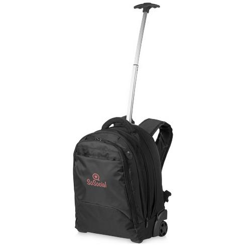 """Lyns 17"""" laptop trolley backpack"""