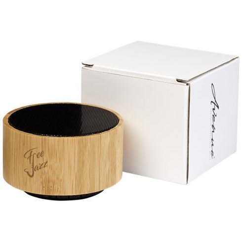 Cosmos bamboo Bluetooth® speaker