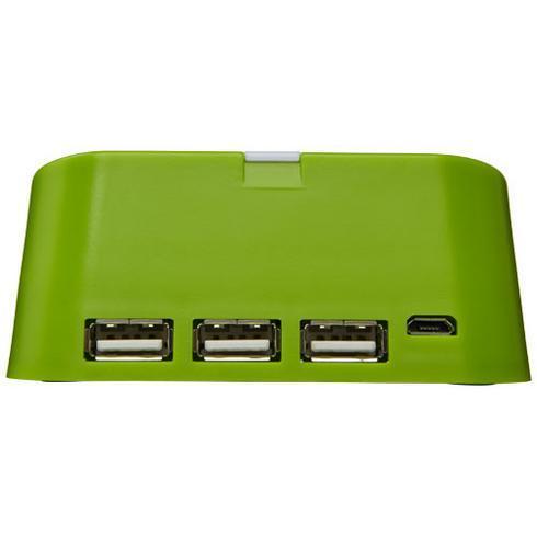 Hopper 3-in-1 USB hub and phone stand