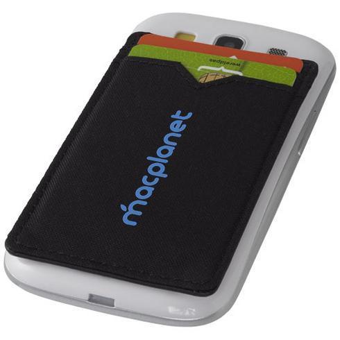 Eye dual pocket RFID smartphone wallet