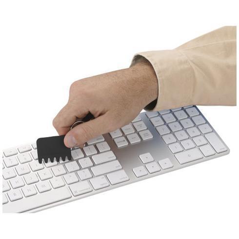 Whisk silicone keyboard brush and keychain