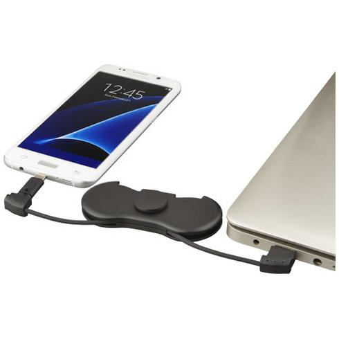 Spin-it charging cable widget