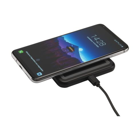 Wireless Charger with Light-Up Logo