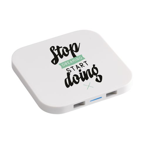Wireless Charger HUB with Logo