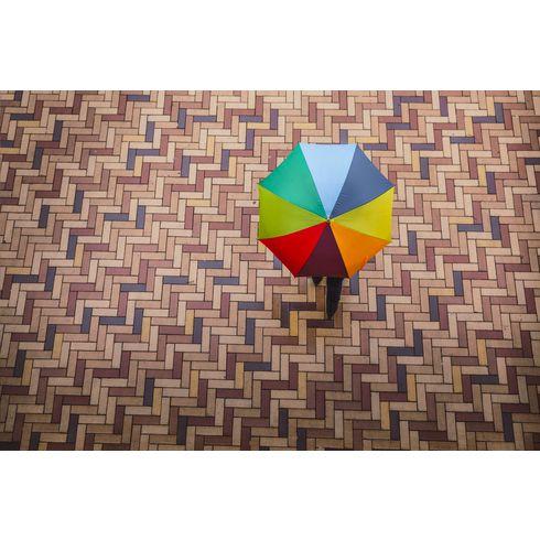 Colorado Rainbow umbrella
