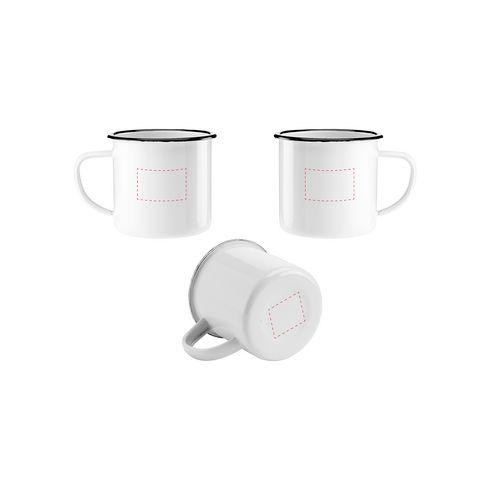 Retro Enamel Mug