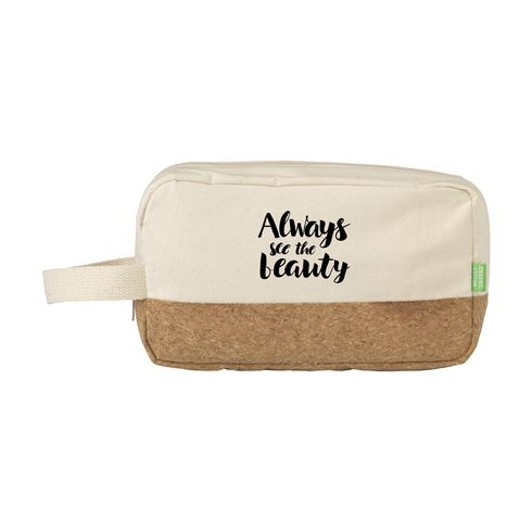 CosCork Eco toiletry bag