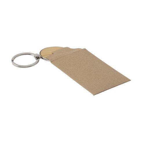 Bamboo Key Circle keyring