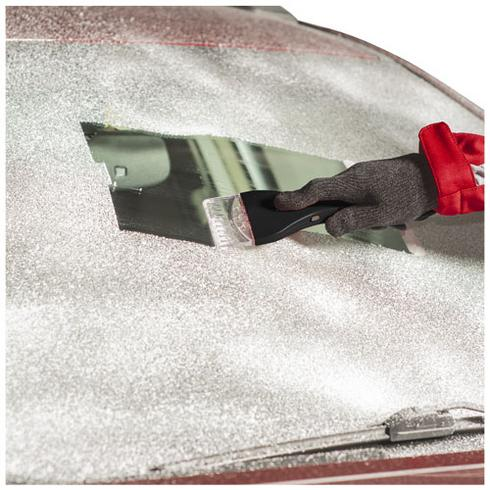 Cadet safety ice scraper with LED light