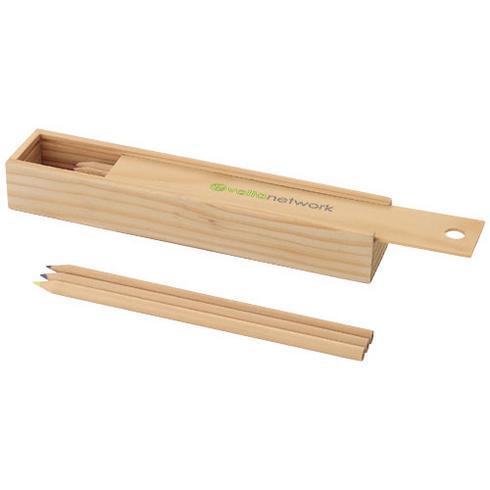 Pines 12-piece woooden pencil set